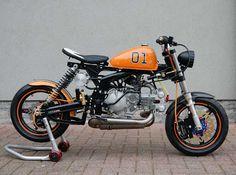 "Honda Monkey ""Dukes of Hazzard"" by T-Factorbikes. My next present to my son!"