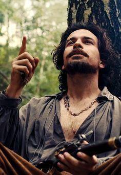 #the musketeers#aramis  santiago cabrera