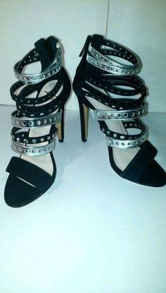 Womens Graceful  Elegant BLACK/grey High Heels Pumps Sandal Platform Strap Shoe  #newbrand #AnkleStrap