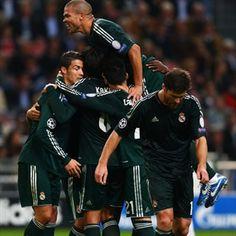 Cristiano Ronaldo, Real Madrid | Ajax 1-4 Real Madrid. 03.10.12.
