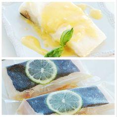 Sous Vide Halibut with Citrus Beurre Blanc #sousvide