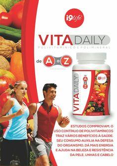 Mais vitamina e minerais para sua saúde VITADAILY I9life