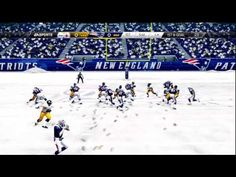 Madden 25 - Steelers vs Patriots - Snow Game