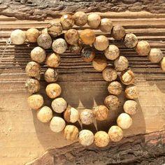 Для украшений ручной работы. Ярмарка Мастеров - ручная работа. Купить Яшма пейзажная 8 мм - 10 шт шар гладкий бусины камни для украшений. Handmade.
