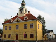 Rauma, Finland. Rauma is one of the oldest harbours in Finland, built around a Franciscan monastery.