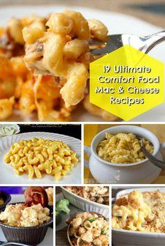 19 Ultimate Comfort Food Mac & Cheese Recipes