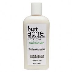 Butt Acne Clearing Lotion is a revolutionary body acne treatment. The first and only product made for buttocks breakouts. Back Acne Treatment, Body Acne, Acne Face, Acne Causes, Natural Acne Remedies, Hormonal Acne, How To Get Rid Of Acne, Acne Scars, Pink