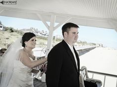 Jenna & John's September 2012 #wedding on the beach at The Breakers in Spring Lake, NJ! (photo by deanmichaelstudio.com) #photography