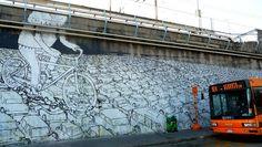 Street Art by Blu (2008), Lambrate, Milano