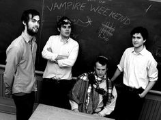 Vampire Weekend is probably my favorite indie rock band. They've gained a rather large following over the past few years.
