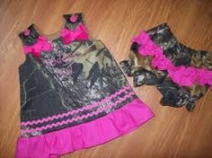 Frilly Camo outfit!