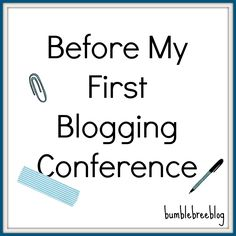 Before My First Blog