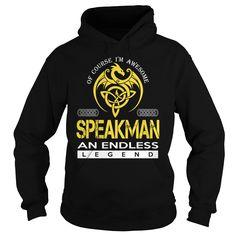 SPEAKMAN An Endless Legend (Dragon) - Last Name, Surname T-Shirt