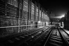 #Geomonitoring #Wientalterrasse I AT, photo by #matthiasritschl #Vermessung #Surveying #U-Bahn #WienerLinien Bahn, Railroad Tracks, Geo, Monitor, Patio, Train Tracks