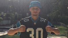 """Super Bowl Stephen Curry rings """"Keep Pounding"""" drum, lauds Carolina Panthers despite loss Nfl Playoffs, Cam Newton, Fall Shorts, Stephen Curry, Carolina Panthers, Broncos, Sports News, Super Bowl, Tar Heels"""