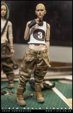 U4M9 Brigade 1/6th scale figurines