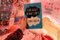the fault in our stars. I hear everybody talking about this book. I Love Books, Good Books, Books To Read, My Books, Question Of The Day, This Or That Questions, I Fall In Love, My Love, Tumblr Quality