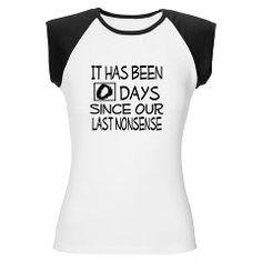Our No Nonsense Women's Cap Sleeve T-Shirt> Our No Nonsense> Dramatically Correct Living