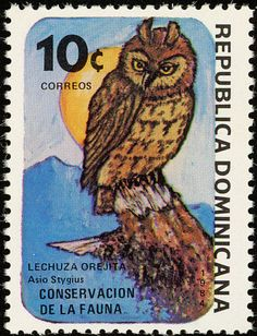 Stygian Owl stamps - mainly images - gallery format