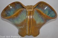 Fulper Pottery Belted Vase (Shape T37) from Just Art Pottery.  Very hard to find shape.