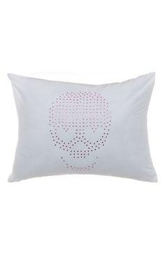 Betsey+Johnson+Bedding+'Boudoir'+Skull+Pillow+available+at+#Nordstrom