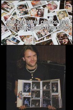 Lars Ulrich just metal things