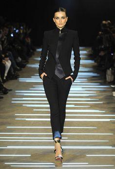 ^Andreea Diaconu Alexandre Vauthier haute couture printemps-été 2013