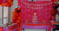 Elmo party for Presley