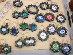 Handmade bike chain keyrings. $5 each