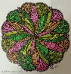 Цветные маркеры, гелевая ручка, бумага