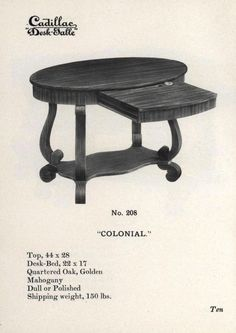 places to borrow tables and chairs butterfly pedicure chair 66 best furniture furnishings a catalog history images book of styles issues expressly for modern people illustrating the cadillac desk table wolverine manufacturing company free download