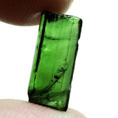 2.54CT.UNHEATED! ROUGH NEON GREEN NATURAL CRYSTAL TOURMALINE NIGERIA #GEMNATURAL