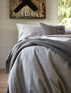 Abode Living - Quilt Covers - Montana Flannel - Abode Living