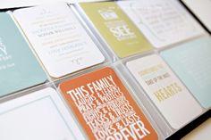 Favorite Quotes Mini Album + Printables