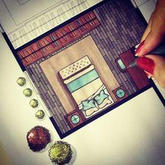 Logo logo mais uma planta baixa renderizada à mão! ✍ #art #arte #arqui #arqsketch #arquinews #arquiteta #arquitetura #arch #archi #archiart #archilovers #architecture #arquitectura #arquitetapage #arquiteturaeurbanismo #render #rendering #handrender #handrendering #handmade #draw #drawing #markers #marcadores #magiccolor #notready #behindthescenes