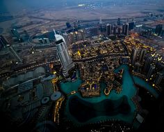 From the worlds tallest building, The Burj Khalifa in Dubai - Aus Globetrotter Photography