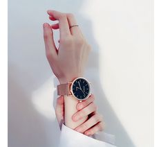Alloy FashionLadies watch(Rose gold with white large size) Hand Photography, Watches Photography, Portrait Photography Poses, Pretty Hands, Beautiful Hands, Hand Veins, Skinny Inspiration, Suede Trench Coat, Girly Drawings
