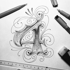 ✩ Check out this list of creative present ideas for people who are into photograhpy Calligraphy Tattoo, Tattoo Lettering Fonts, Types Of Lettering, Lettering Styles, Lettering Design, Tattoo Script, Caligraphy Alphabet, Hand Lettering Alphabet, Calligraphy Letters