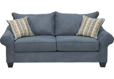 Shop for a San Diego Navy Loveseat at Rooms To Go. Find Loveseats that will look great in your home and complement the rest of your furniture.
