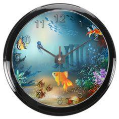 Underwater 4 Aqua Clock