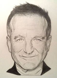 Robin Williams by Rob Crandall
