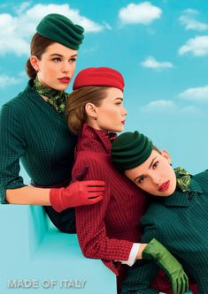 Alitalia's New Uniforms Are Flagship Of New Brand Image