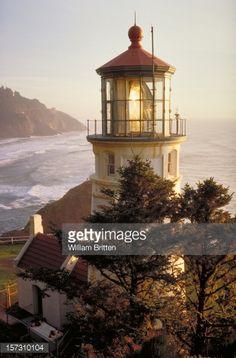 Stock-Foto : Heceta Head Lighthouse