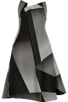 Donna KaranAsymmetric crepe dress