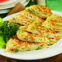 Breakfast Menu, Indonesian Food, Omelet, Asian Recipes, Food And Drink, Eggs, Vegetarian, Yummy Food, Favorite Recipes