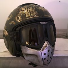 Shark Raw Helmet Full Metal Jacket, by JPM. Born to Kill Helmet. Motorcycle…