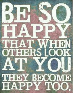 Spread happiness :)