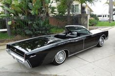 This 1967 Lincoln Convertible (VIN 7Y86G817996) was purchased by the seller's father-in-law in 1977 with 19k miles, and it is now being sold off following his unfortunate passing and over 40 years of careful ownership. The car is fully documented back to day one with 28k miles, and it still has almost all original paint and a perfect interior according to the seller. There was only one owner prior to it being in the family, and it is black on black with a white top and ice cold factory…