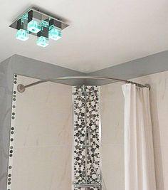 1000 images about le rideau de douche sa place dans de for Rideau de douche rond