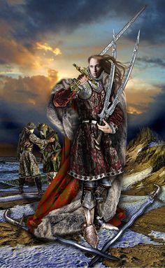 Five of Swords by Elric2012.deviantart.com on @deviantART